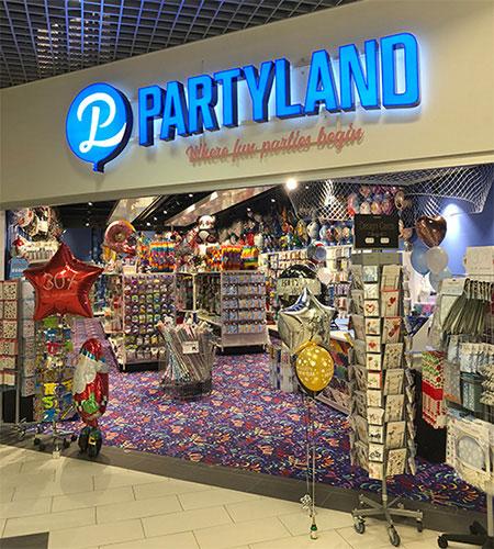 Butik Partyland
