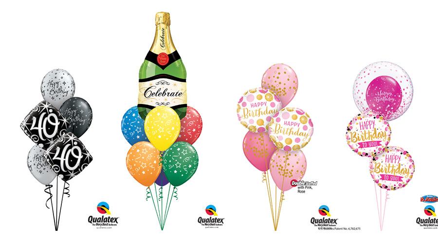 Ballongbukett Födelsedag